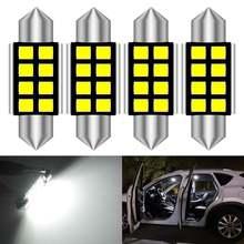 Светодиодная лампа canbus 36 мм c5w для номерного знака mercedes