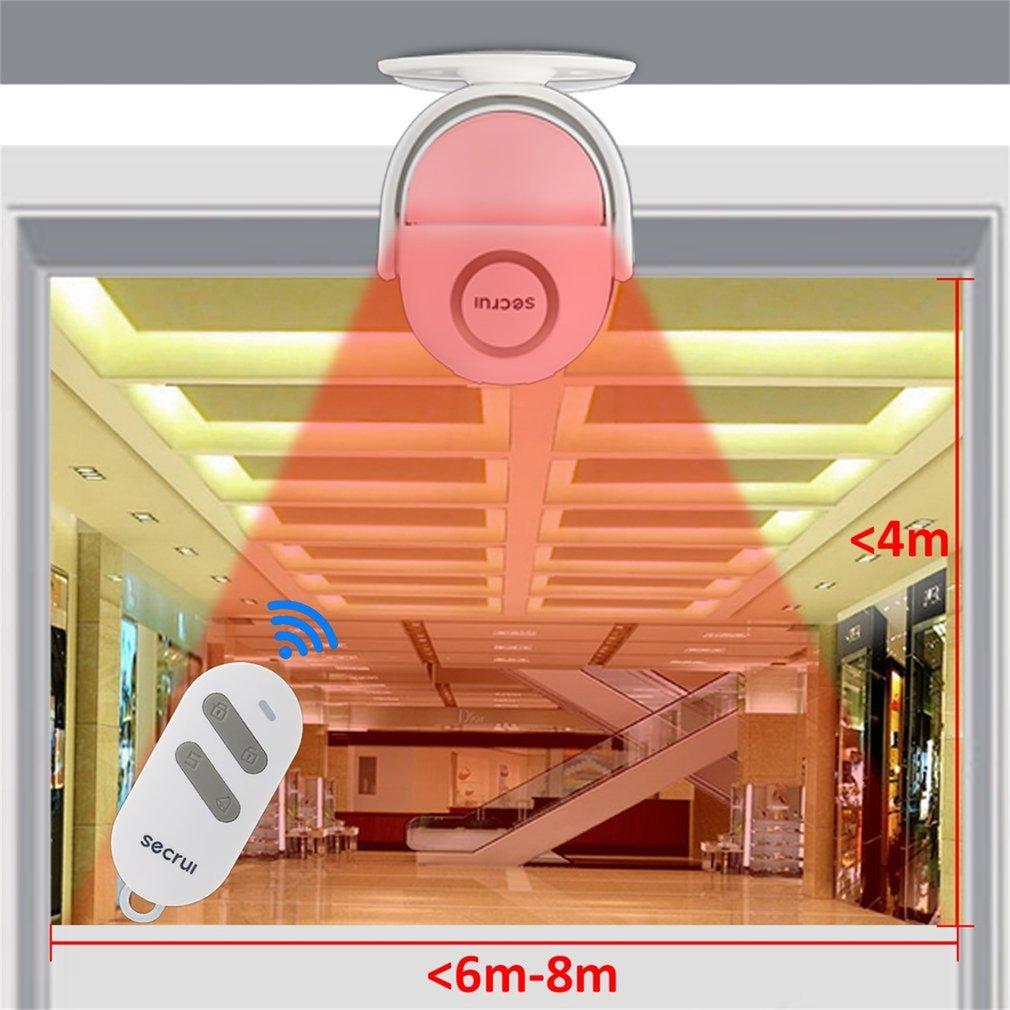 Motion Sensor Home Alarm Infrarot PIR Sensor Drahtlose Einbrecher Alarm Motion Detektor Garage Alarm Zwave Für GSM Alarm System WP6