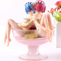 Re: la vita in un Mondo Diverso da Zero Rem e Ram Budino a La Mode PVC Anime Action Figure Da Collezione Modello giocattolo Della Bambola Della Ragazza