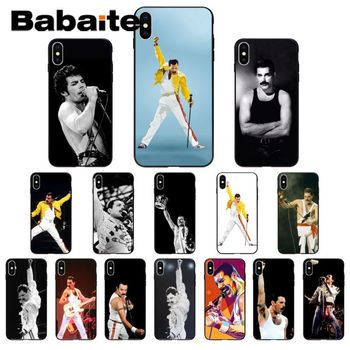 for iphone 11pro max Freddie Mercury Soft Silicone Phone Case Cover for iphone 8 7 6 6S Plus 5 5S SE XR X XS MAX Coque Shell image