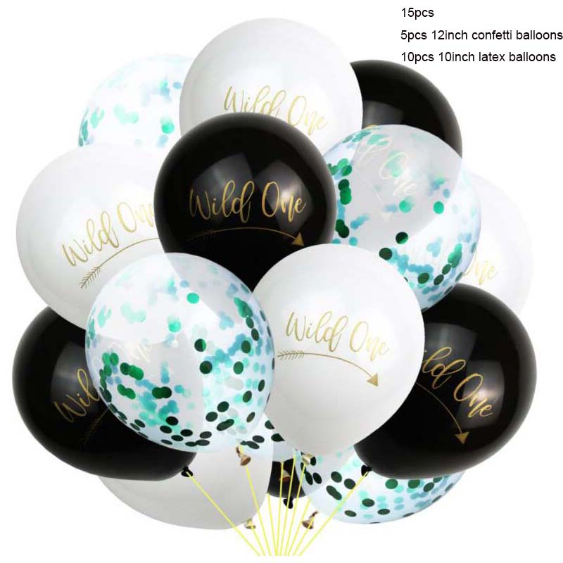 One Wild Boy 1st Birthday Baby Party Tableware Decorations Favours