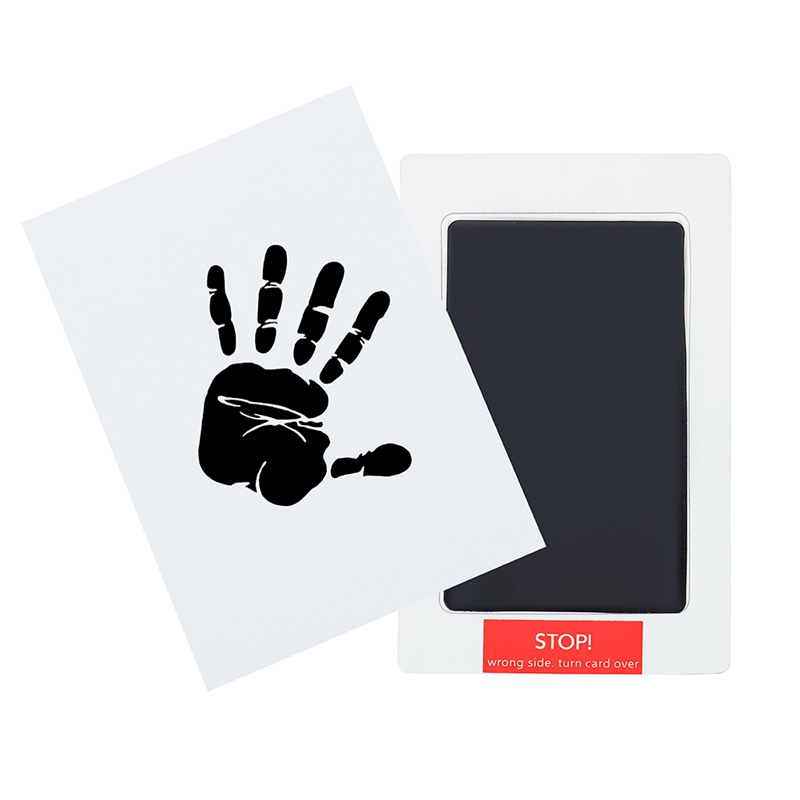 2PCS/Lot Non-Toxic Baby Handprint Footprint Imprint Kits Baby Souvenirs Casting Newborn Footprint Ink Pad Baby Shower Gifts