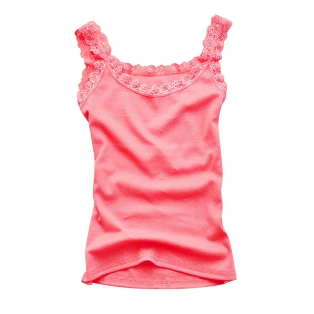 Women Sexy Tank Tops Multicolors Sleeveless Bodycon Temperament T-shirt Vest Summer Fashion Lace Camisole Top 10