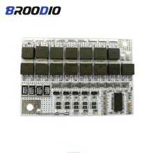 5S BMS 18V 100A 18650 LiFePO4 Li-ion Battery Pack Protection Circuit Module lto Bms Lithium Balance Balancer Equalizer Board cheap Broodio Battery Accessories lithium battery protection board bms 5s bms 18650 18650 bms 18650 balancer