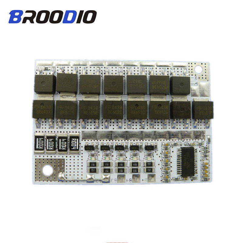 5S BMS 18V 100A 18650 LiFePO4 Li-ion Battery Pack Protection Circuit Module Lto Bms Lithium Balance Balancer Equalizer Board