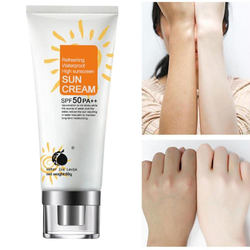 SPF 50 Facial Body Sunscreen Whitening Sun Cream Sunblock Skin Protective Cream Oil-control Moisturizing