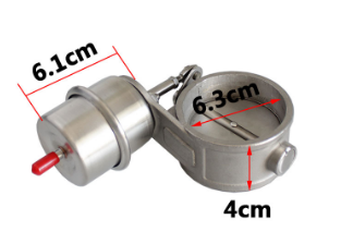 Image 5 - universal 1 Set New Car Vacuum Exhaust Cutout Valve 2.5'' 63mm Open Style Wireless Remote Controller Set-in Mufflers from Automobiles & Motorcycles