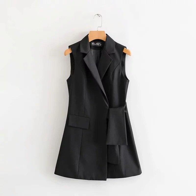 Women Ladies Formal Slim Black Blazer Patchwork Coat Oversized Suit Femme Gray Blazer Women Work Office Lady Blazer 2020 II50XZ