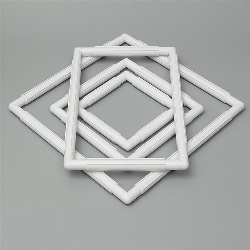 US $3.73 5% СКИДКА|5 размеров пластиковая квадратная рамка для вышивки крестиком инструменты для рукоделия швейные инструменты аксессуары рамка для обруча инструменты для рукоделия|Швейные инструменты и аксессуары| |  - AliExpress