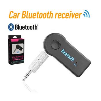 Bezprzewodowy zestaw słuchawkowy Bluetooth 4 0 nadajnik-odbiornik przenośny 3 5mm AUX Audio Adapter bezprzewodowy dla telewizor samochodowy PC odbiornik Bluetooth zestaw tanie i dobre opinie centechia Brak Pojedyncze