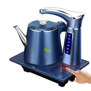 Pumping-Stove Kettle Teapot-Set Water-Dispenser Samovar Electric Stainless-Steel Household
