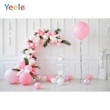 Yeele воздушные шары листья Белый дом День Рождения Декор Детские Фото фоны фотографии фоны для фотостудии