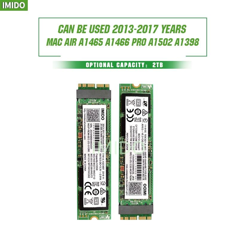 NEW 256GB 512GB 1TB M.2 SSD PCIe For Mac SSD M2 NVMe SSD Hard Drive Gen3x4 3D NAND Flash SSD 1TB For MacBook Air/Macbook Pro