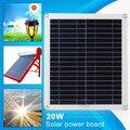 42*37*0,3 cm Polysilizium Solar Lade Ausrüstung Solar Zellen Modul Reise Telefon Ladegerät Outdoor 20W Solar panel DIY Angetrieben