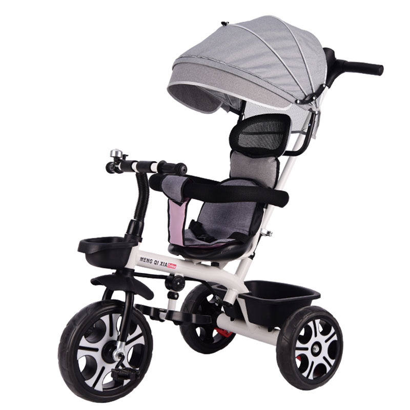 2 In 1 Baby Stroller Children's Tricycle Bicycle 1-6Y Stroller Umbrella Car for Kids Child Tricycle Stroller baby bike(China)