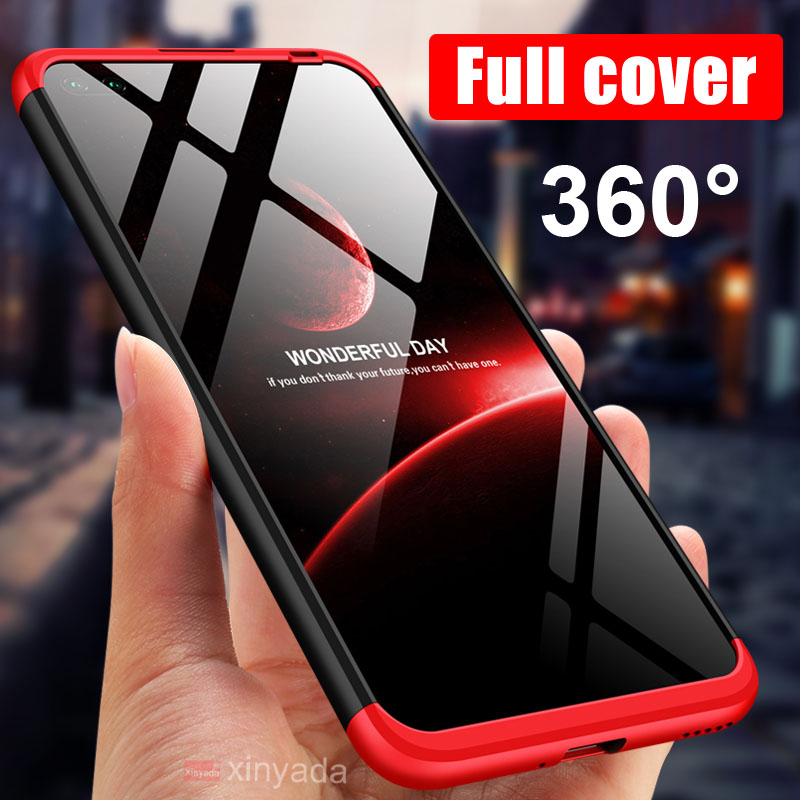 360 Case Full Cover For Huawei P40 Pro P40 Lite Honor V30 V20 Case Luxury Armor PC Hard Phone Back Bumper Shell Coque Funda