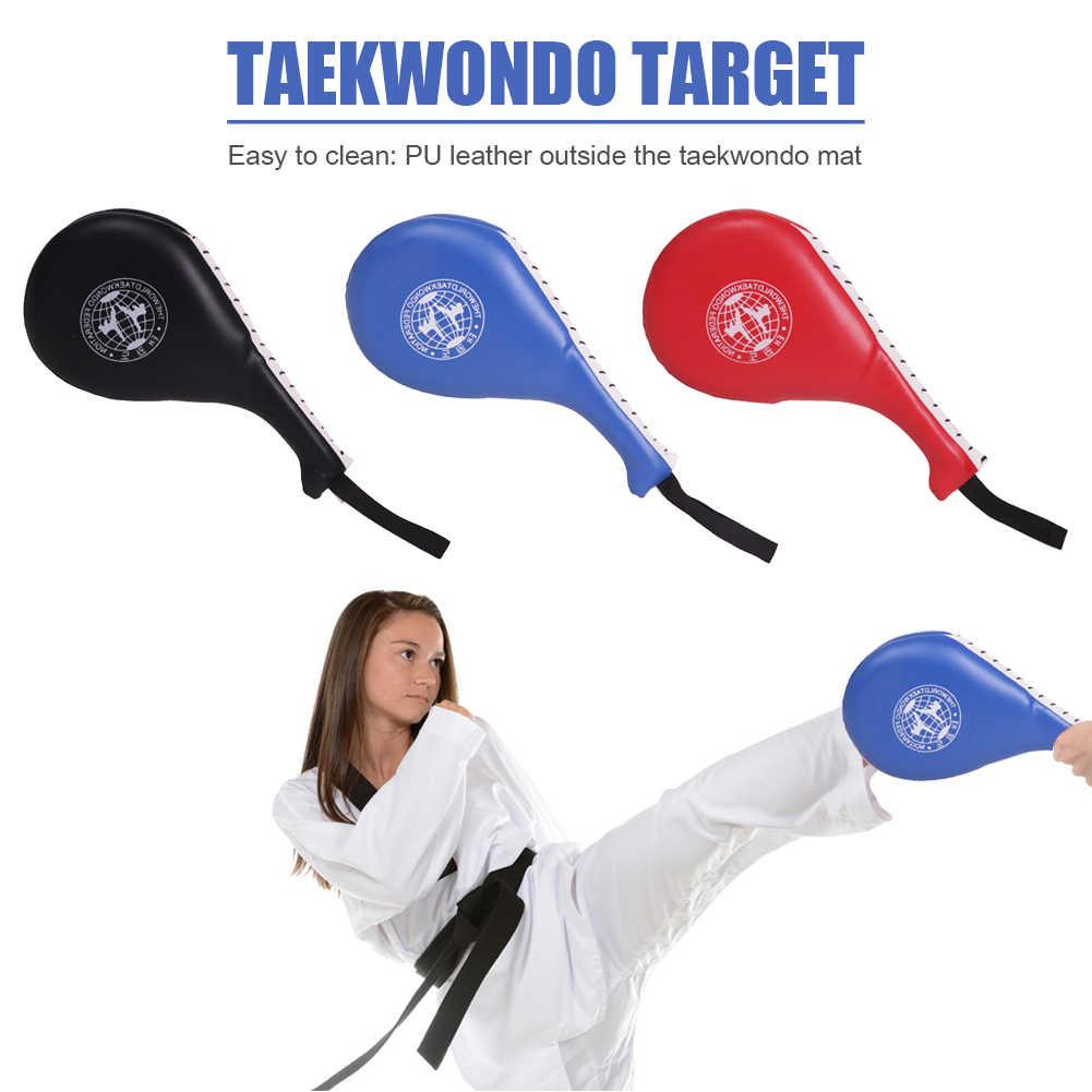 Taekwondo Kick Pads Target Double Foot Kickboxing Leaf Training Equipment Kids