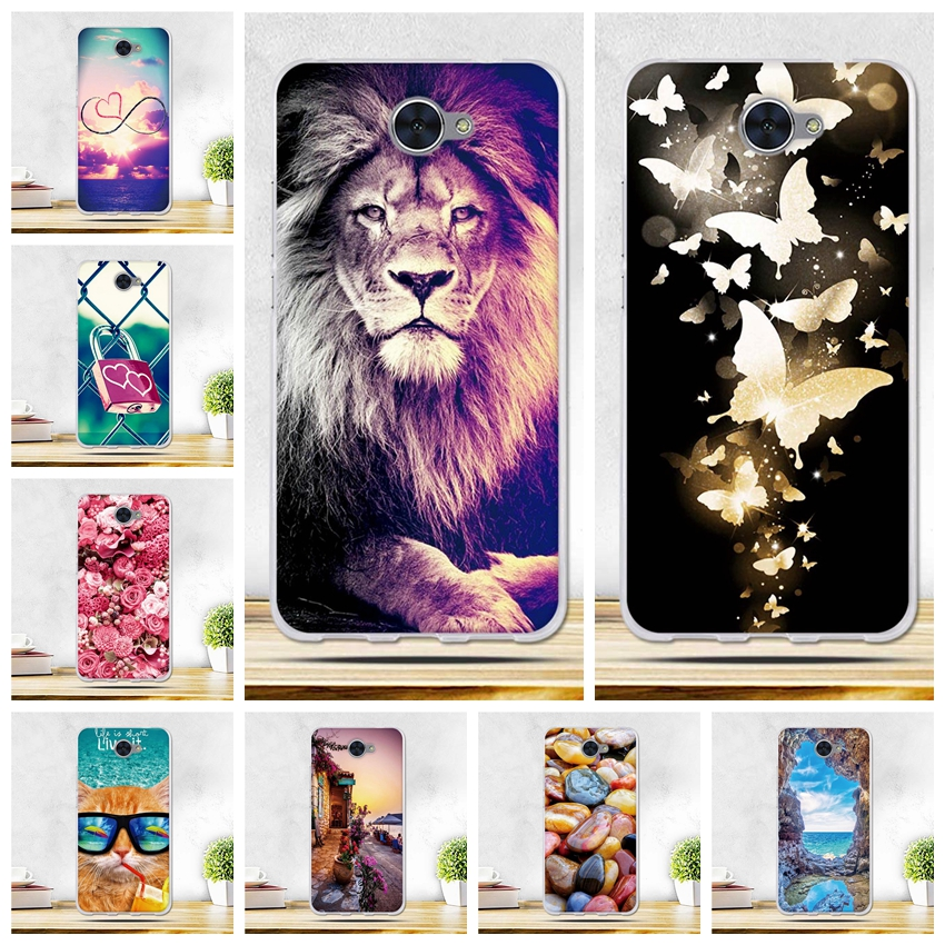 For <font><b>Huawei</b></font> Y7 Cover Soft Silicone Back Cover Phone <font><b>Cases</b></font> for <font><b>Huawei</b></font> Nova Lite Plus <font><b>Case</b></font> TPU Cover for <font><b>Huawei</b></font> <font><b>Y</b></font> <font><b>7</b></font> Nova Lite+ <font><b>Case</b></font> image