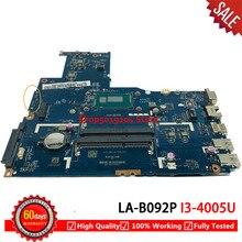Für Lenovo B50-70 Laptop Motherboard SR1EK I3-4005U ZIWB2/ZIWB3/ZIWE1 LA-B092P mainboard