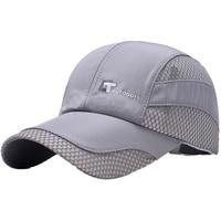 Summer Quick drying Men Breathable Mesh Cap Sport Cap Quick Dry Hat Climbing Running Sport Hats