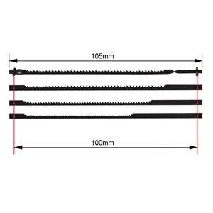 """Image 2 - TASP cuchillas de Sierra de calar de 4 """"y 105mm, cuchillas de corte de madera para motosierra Dremel, 48 Uds."""