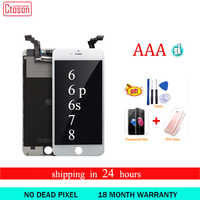 Ctoson Display For iPhone 6 6S lCD Screen Digitizer for Iphone 6 Plus Pantalla For Apple iphone 7 8 Ecran No Dead Piex