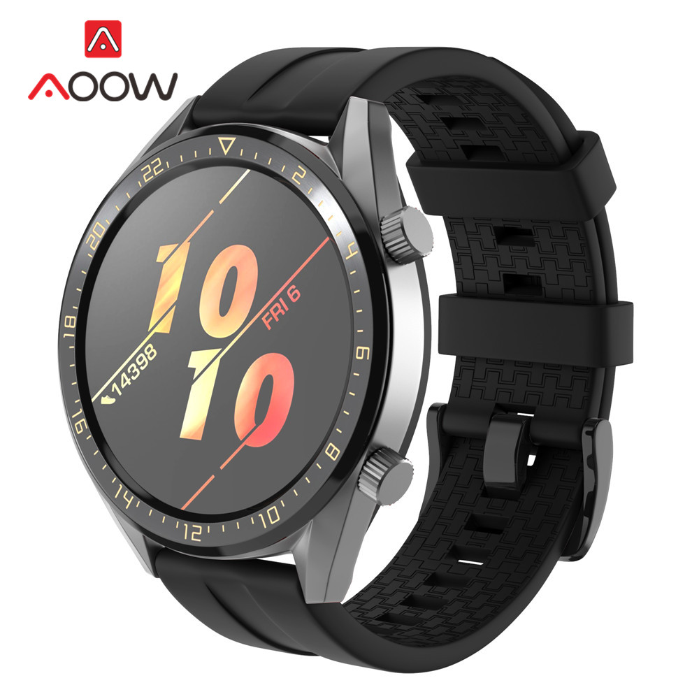 Sport Silicone Watchband 22mm for Huawei Watch GT Active / Classic Honor Magic Quick Release Bracelet Band Strap for Smart Watch