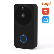 цена на SUNTEX FHD 1080P Smart Life Tuya APP Video Doorbell Wireless WiFi Door Bell Monitor Alarm Door Phone Battery Outdoor IP Camera