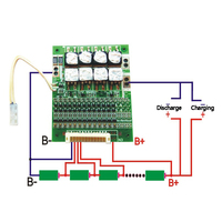 BMS 13S 48V 50A 18650 Li ion Lithium Battery Pack Protection Equalizer Board With Balance For BMS PCB Electric Vehicles|Battery Accessories| |  -