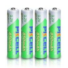PKCELL – batterie rechargeable AAA 850mah 1.2V NIMH AAA, pré-charge, faible décharge automatique, pour appareil photo et lampe de poche