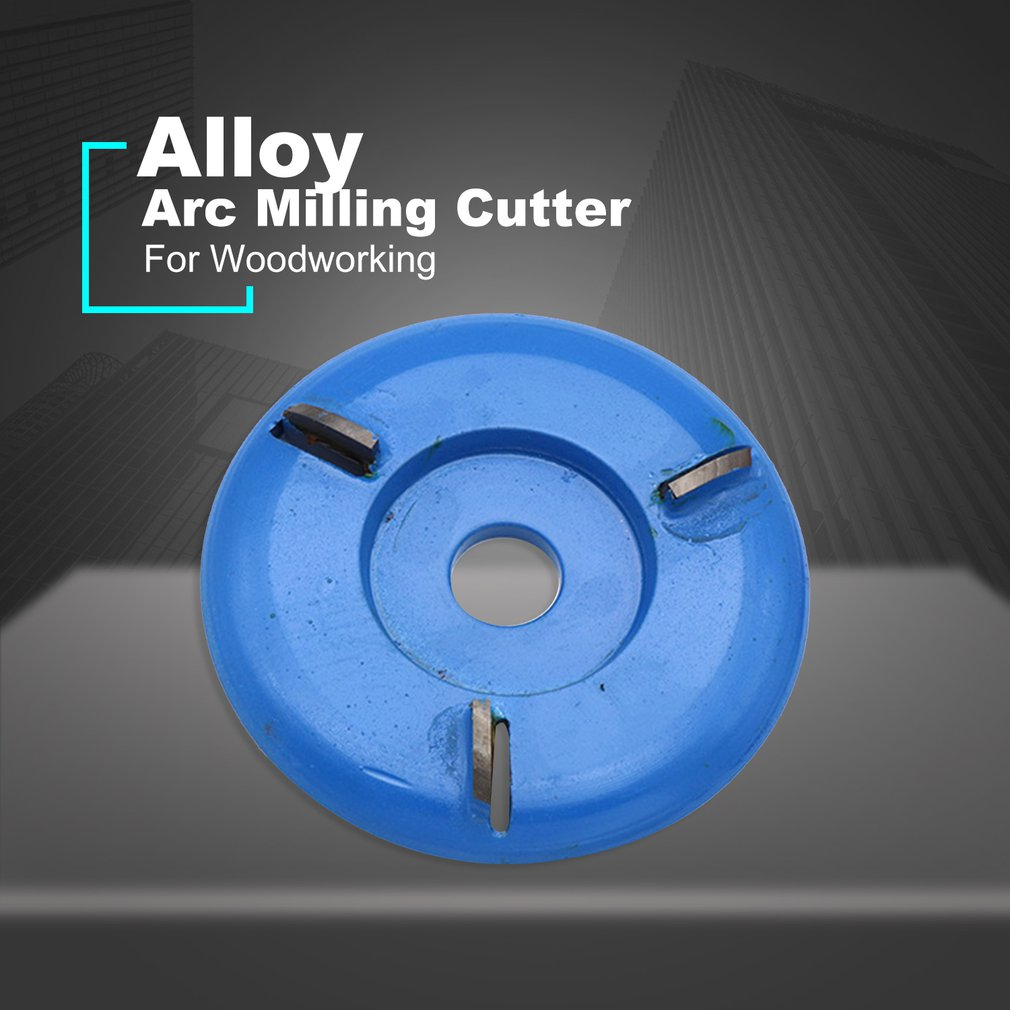 For 16mm Aperture Angle Grinder Wood Carving Disc Tool Arc 3T/4T/5T/6T Woodworking Turbo Tea Tray Digging Milling Cutter