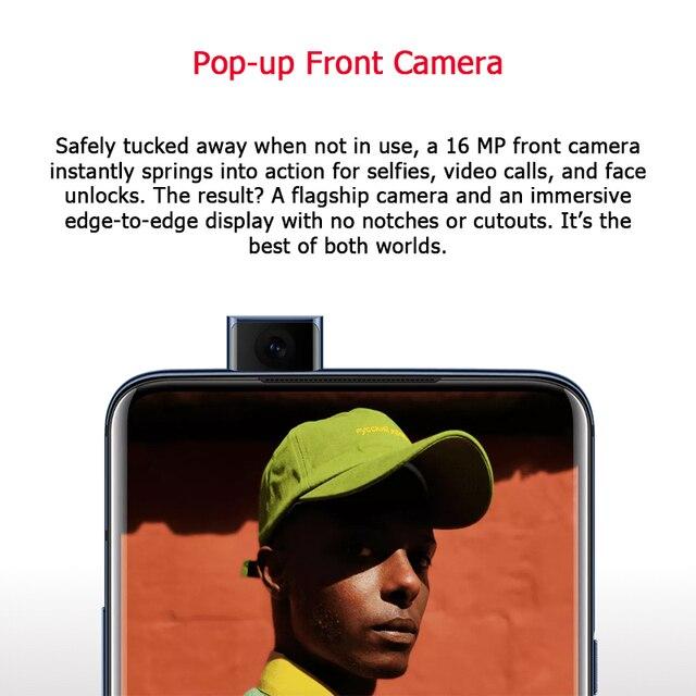 Global ROM OnePlus 7T Pro 8GB 256GB Snapdragon 855 Plus SmartPhone 6.67'' Fluid AMOLED 90Hz Screen 48MP Camera 4085mA UFS 3.0 4