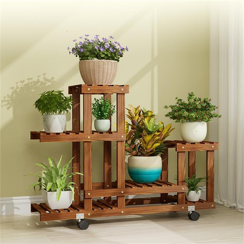 Macetas Saksi Standi Indoor Pot Stand Estanteria Para Plantas Plantenstandaard Stojak Na Kwiaty Balcony Flower Rack Plant Shelf