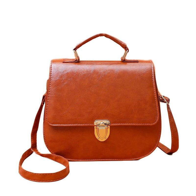 Mododiino New Elegant Shoulder Bag Women Oil Wax Leather Bags Cossbody Luxury Handbags Designer DNV1211