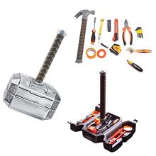 Thor Hammer Tool Set Thor Battle Hammer Tool Set,Durable, Long Lasting Chrome Finish Tools with Thor Hammer Case 29cm thor s hammer toys new avengers super heroes thor hammer cosplay toy plastic hammer action figures for kids christmas gifts