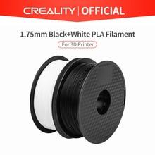 CREALITY 3D เครื่องพิมพ์ Ender ยี่ห้อสีขาว/สีดำสี 2 กิโลกรัม/ล็อตคุณภาพสูง PLA 1.75 มม.สำหรับ 3D เครื่องพิมพ์