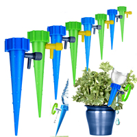 12/6/1PCS Self contained Auto Drip Irrigation Watering System Automatic Watering Spike Kit for Plants Flower Indoor Household|Watering Kits| |  -