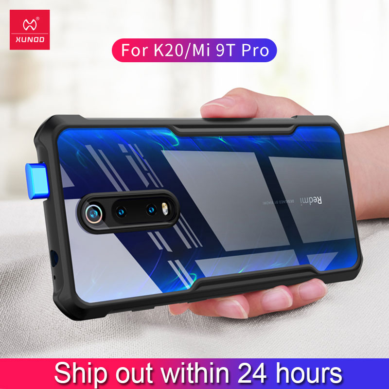 XUNDD Shockproof Phone case For XiaoMi Redmi K20Pro K30 Mi9T Pro Note 8 Protective Case For Redmi K20 Mi9T Note 7Pro With Bumper image