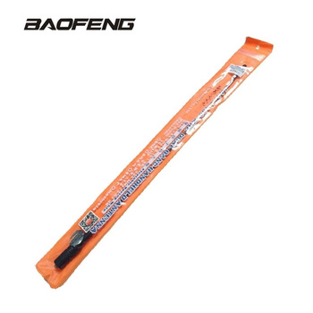 Baofeng NA-771 Antenna Gain NA771 Walkie Talkie Antenna SMA-F 39cm UHF VHF Signal Extend Amplifier for UV-5R BF-888S UV-82 baofeng uv 5r walkie talkie gain antenna dual band portable 5cm short radio antenna sma f for baofeng uv 5r bf 888s uv 82 telsiz