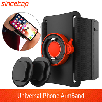 Universal Running Armband Sports Wristband Phone Holder with Quick Mount For Huawei iPhone 11pro X XS Max XR 8 7 6 6S Samsung