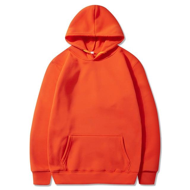 Fashion Brand Men's/Women's Hoodies 2021 Spring Autumn Male Casual Hoodies Sweatshirts Men's Solid Color Hoodies Sweatshirt Tops 5