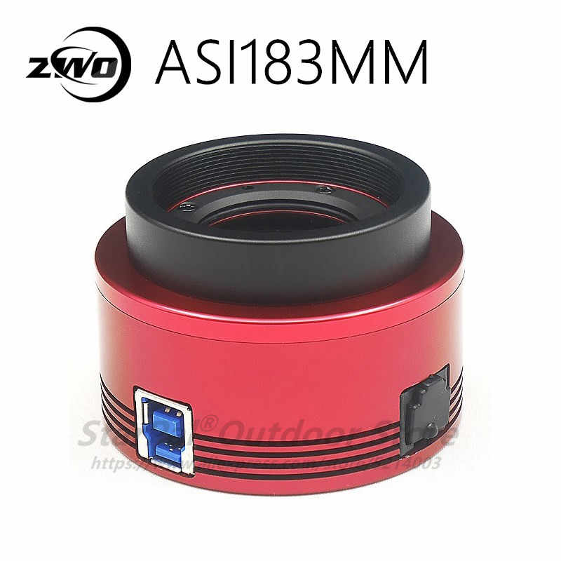 Камера астрономическая ZWO ASI 183 мм Pro с охлаждением, высокоскоростная USB3.0 ASI183MM Pro ASI183 MM Pro ASI 183 MM Pro