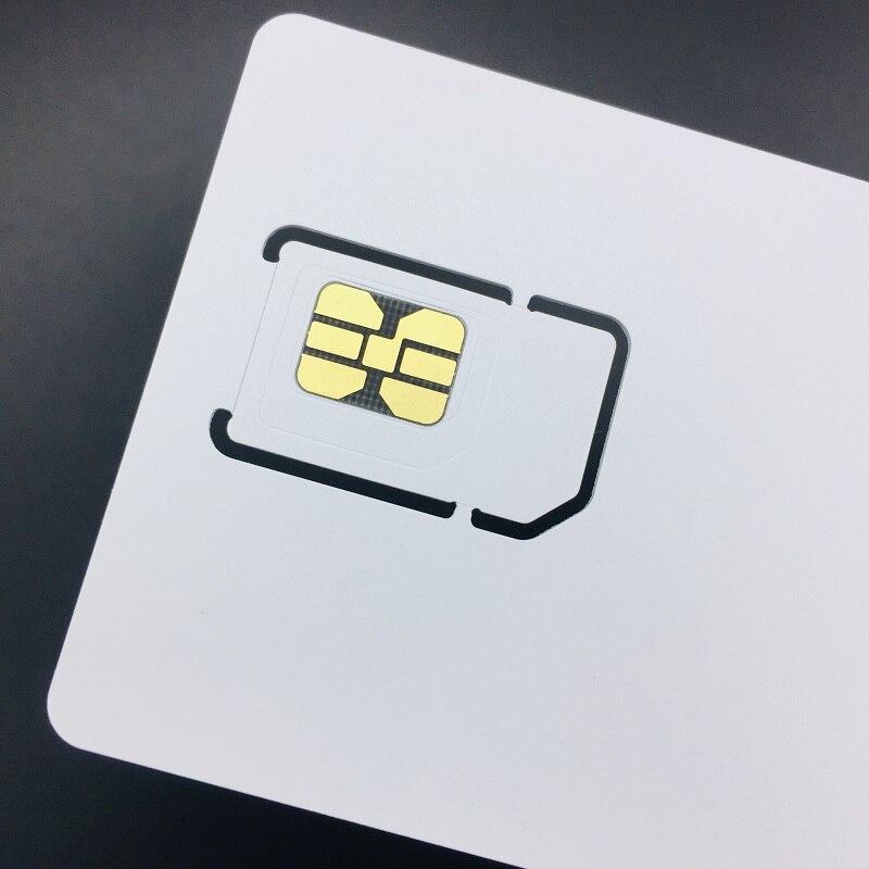 Oyeittimes устройство для чтения sim-карт+ 3 шт 2FF/3FF/4FF программируемая 5G VoLTE ISIM карта пустая VoLTE WCDMA GSM sim-карта+ SIM инструменты для персонализации