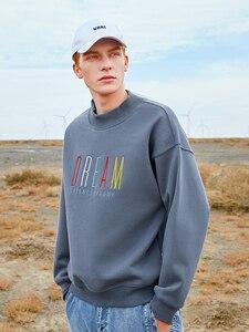 Image 2 - Pioneer Camp Mode Dicken Pullover Männer Winter Warme Fleece 100% Baumwolle Kausalen Streetwear Sweatshirts für Männer AWY901305