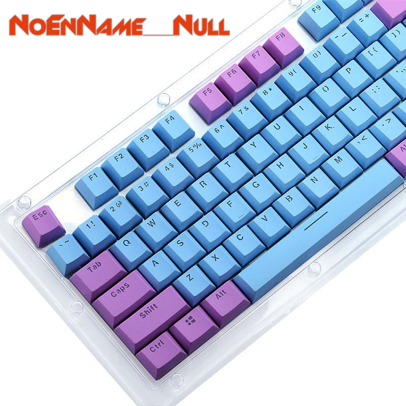 Mechanical Keyboard replaceable <font><b>Keycaps</b></font> Translucent Double Shot <font><b>PBT</b></font> <font><b>104</b></font> <font><b>KeyCaps</b></font> Backlit For Cherry MX Keyboard Switch image