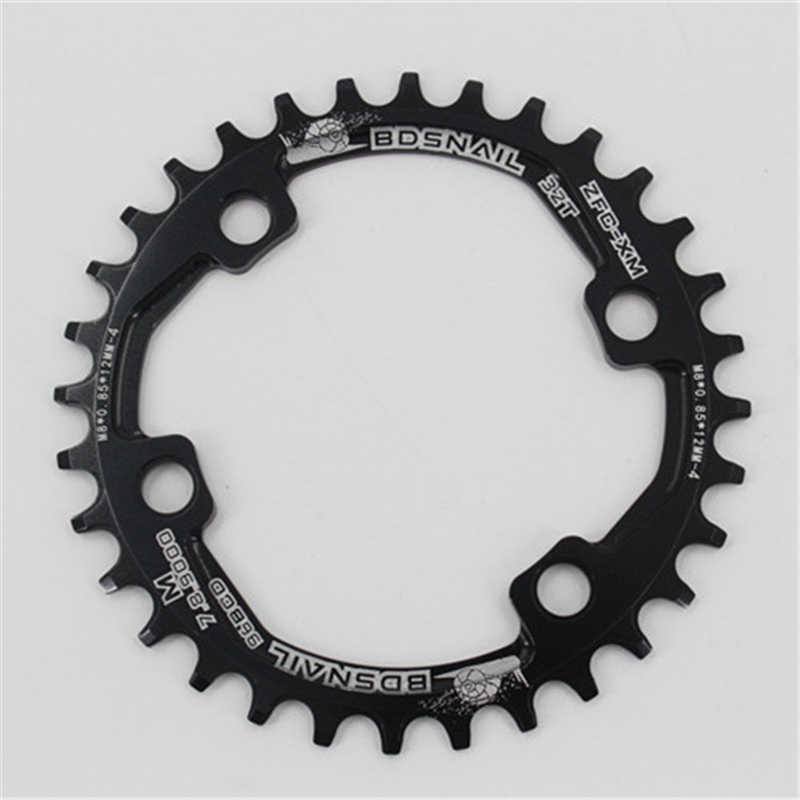 Oval Chain ring 32T 34T 36T 38T For SHIMANO XT SLX M7000//8000//9000 96BCD Round
