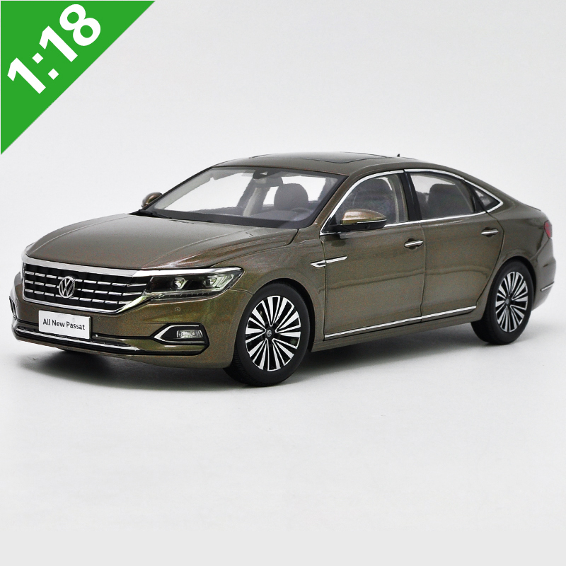 High Meticulous 1:18 VW PASSAT Alloy Model Car Static Metal Model Vehicles Original Box For Gifts Collection