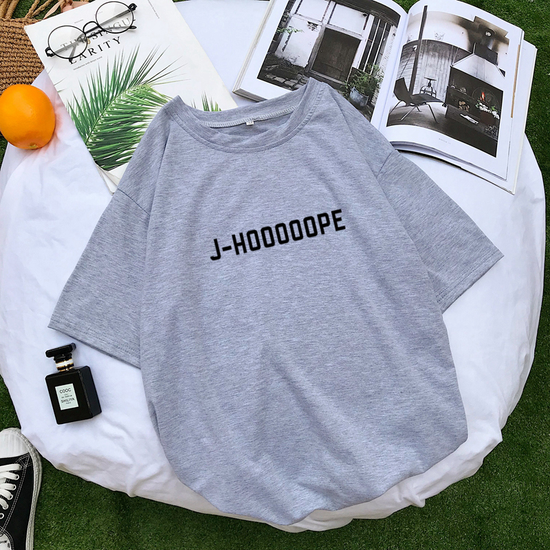 Attention Armys Cute J-HOOOOOPE Letter Printed T Shirts 6