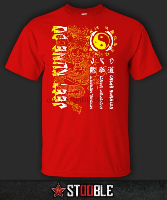 Camiseta jeet kune do dragão