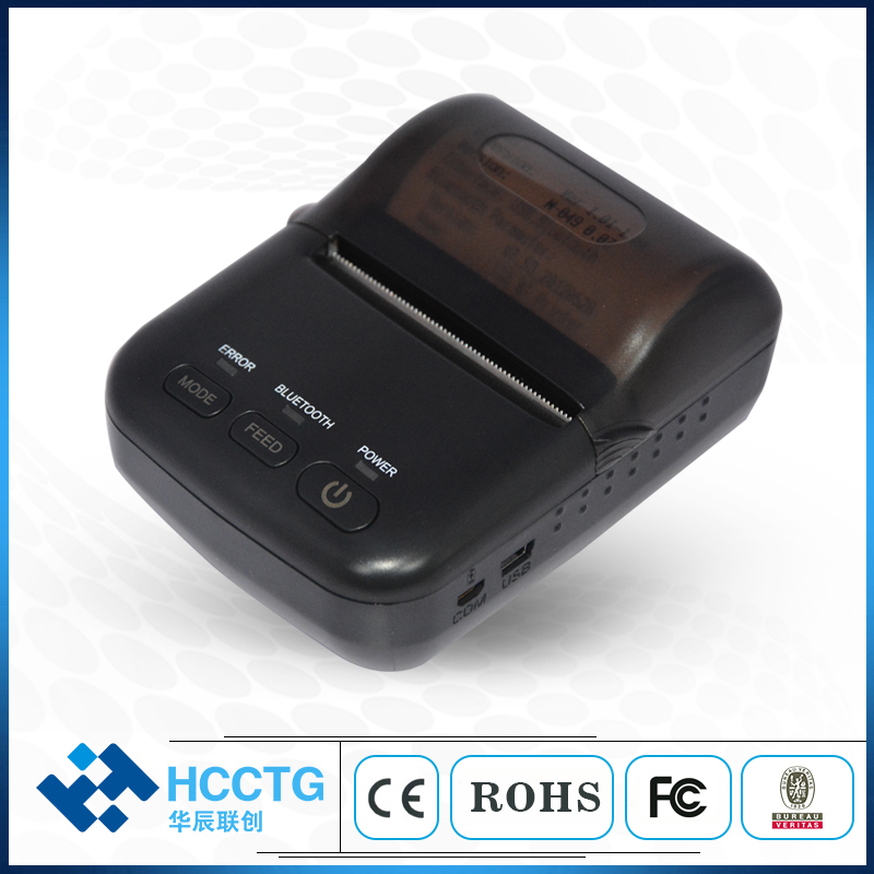 Ultra-licht Mini Tragbare Bluetooth Thermische Mobilen Drucker HCC-T12
